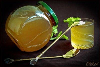Мятно-лимонный джем
