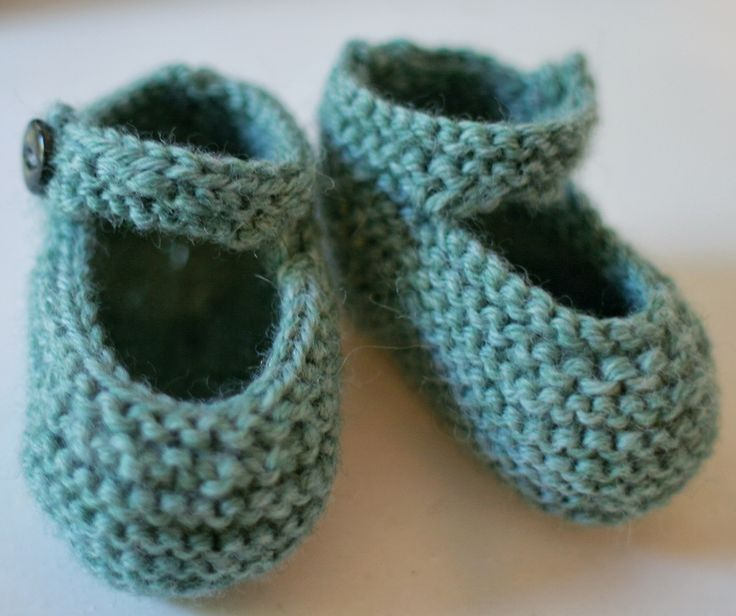 DIY Knit Baby Bootie Gift Childrens clothes Pinterest Knitted baby...