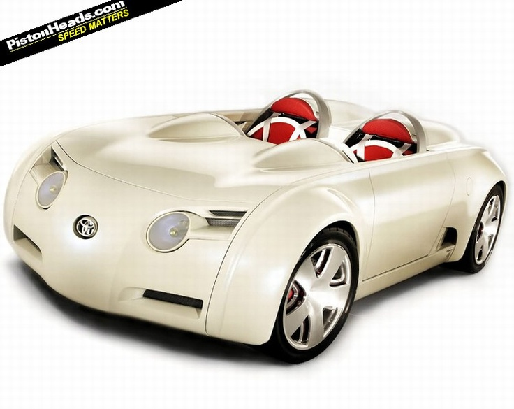 Toyota Concept Car - Looks like Hello Kitty! How adorable. :)
