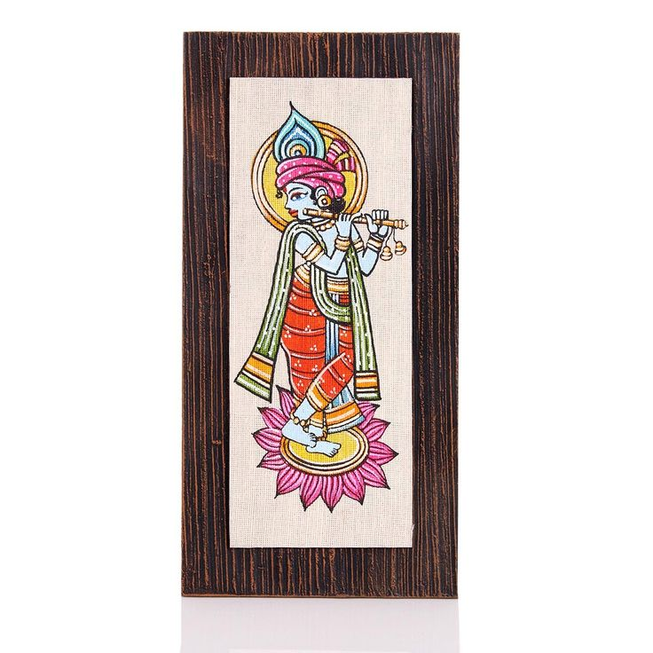 Buy Wooden Wall Hanging   Jute Art Krishna At Rs. 525 From Wedtree Gifts  For Your Wedding, Birthday, Arangetram And Baby Shower Return Gift From  Wedtree.