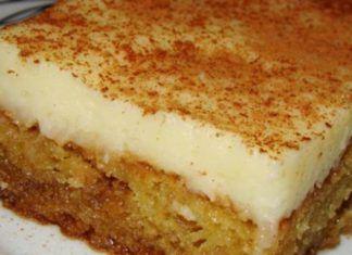 """""""Πολίτικο"""" Θεσσαλονίκης Μια συνταγή για ένα υπέροχο γλύκισμα. Απίστευτο…"""
