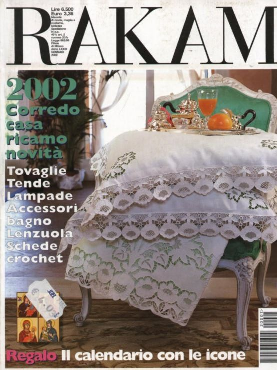 copertina rivista Rakam