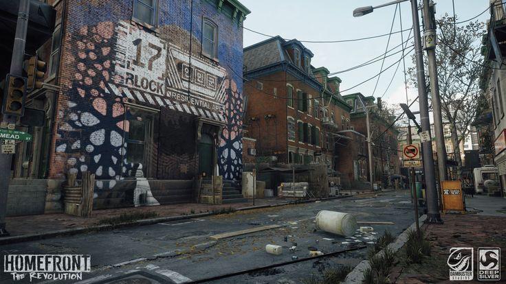 ArtStation - Homefront: The Revolution Environment Art, Max Mead