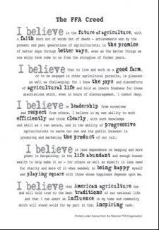 1000+ images about FFA Creed/Public Speaking on Pinterest | FFA ...
