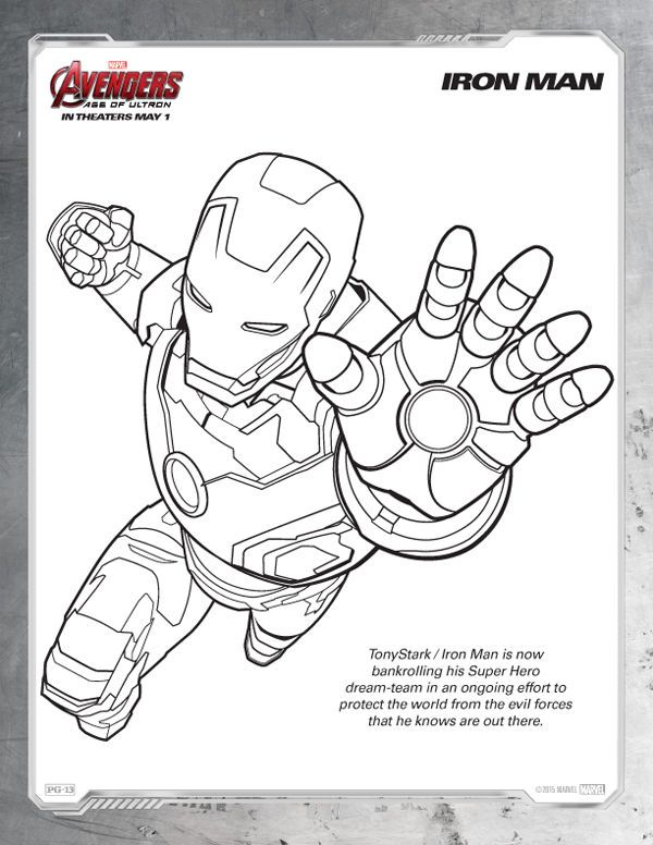 Pin On Avengers Coloring Pages