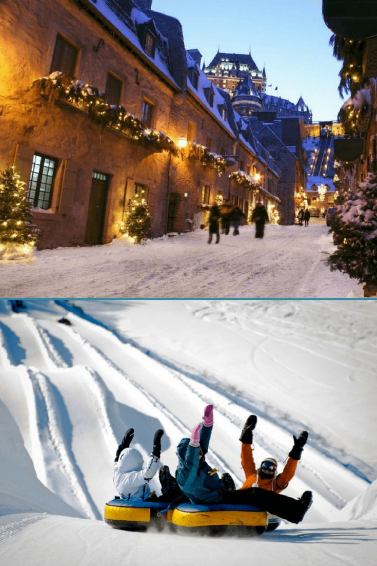 Whether you're planning to explore the annual Winter Carnival or craving some serious snow tubing, we've got you covered with this winter vacation guide to Quebec City from Alamo Chief Travel Guide Stefanie Fauquet of Mommy Musings.