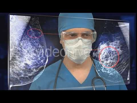 Breast Εxamination (Stock Footage)