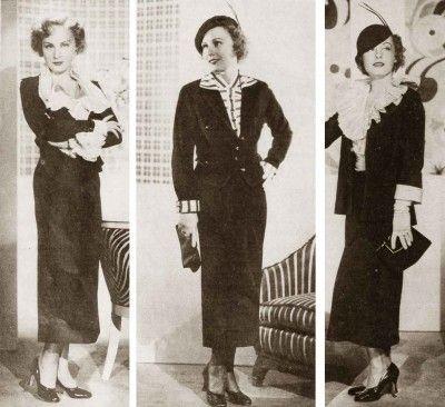 1930s-fashion---Autumn-styles-for-1934