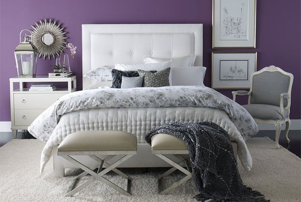 I love this room, in some future fantasy life where i didn't have two dogs (one of which sheds a LOT) who also sleep in my bed. Ethan Allen   Shop by Room   Bedroom