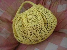 パイナップル編みのグラニーバッグの作り方 編み物 編み物・手芸・ソーイング   アトリエ