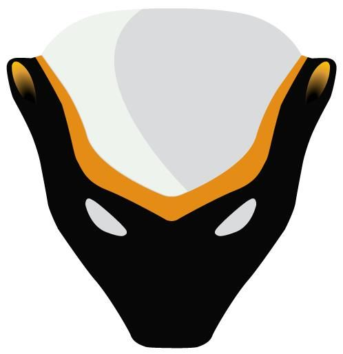 Honey Badger logo.  It will make a great hat. Updated and cleaned up by Leland.