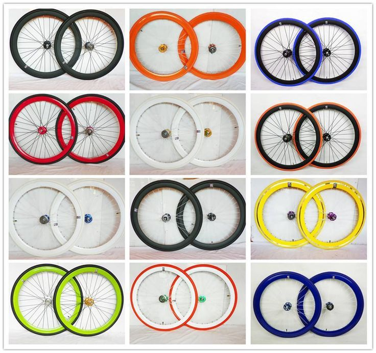Wheels bicycle bike Single Speed wheels wheelsets Fixed Fixie 700c wheels