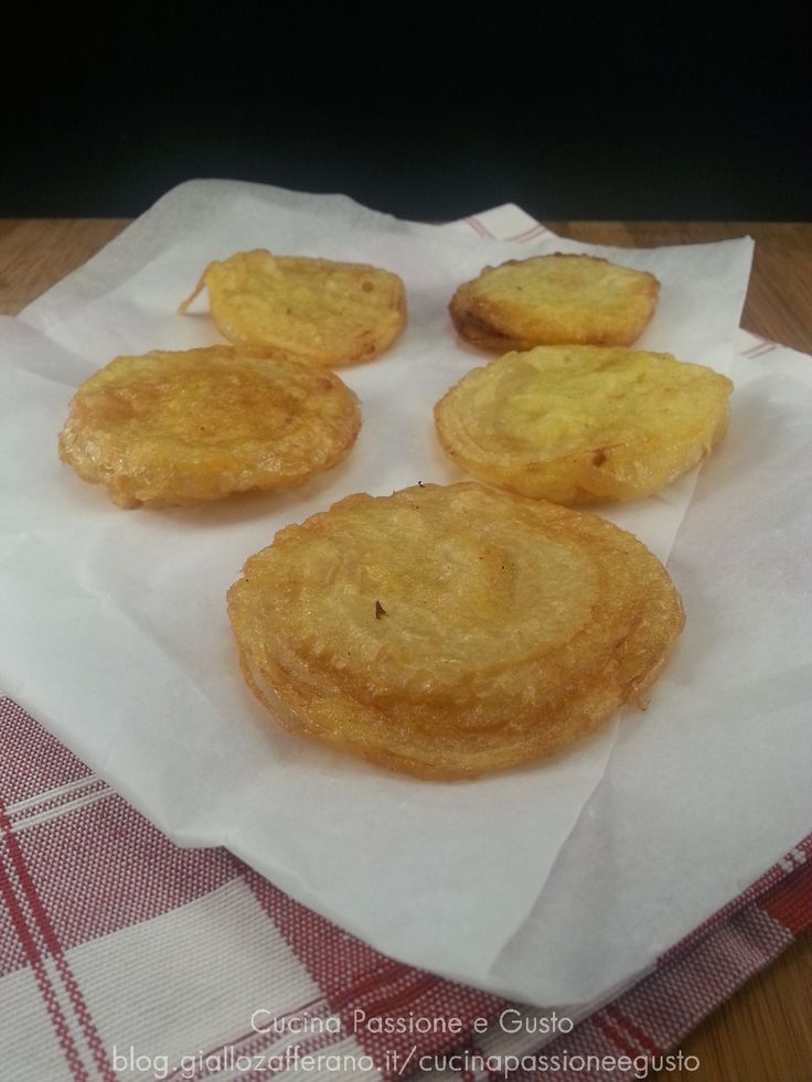 Cipolle fritte in pastella