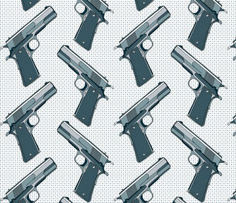 They Made Me A Killer fabric by louiseisobel on Spoonflower - custom fabric