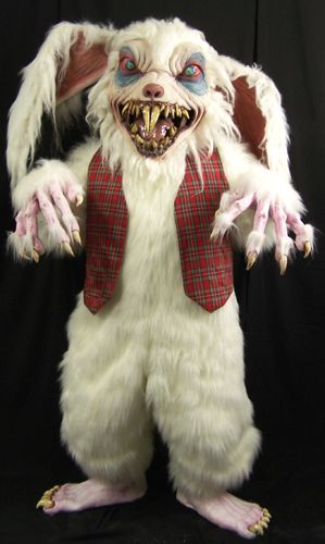 Extremely Scary Halloween Masks   Here comes Peter Rottentail, hopping down the whisky trail, biting ...
