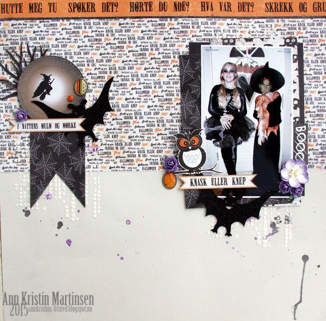 Ann Kristins fristed Halloween Papirdesign