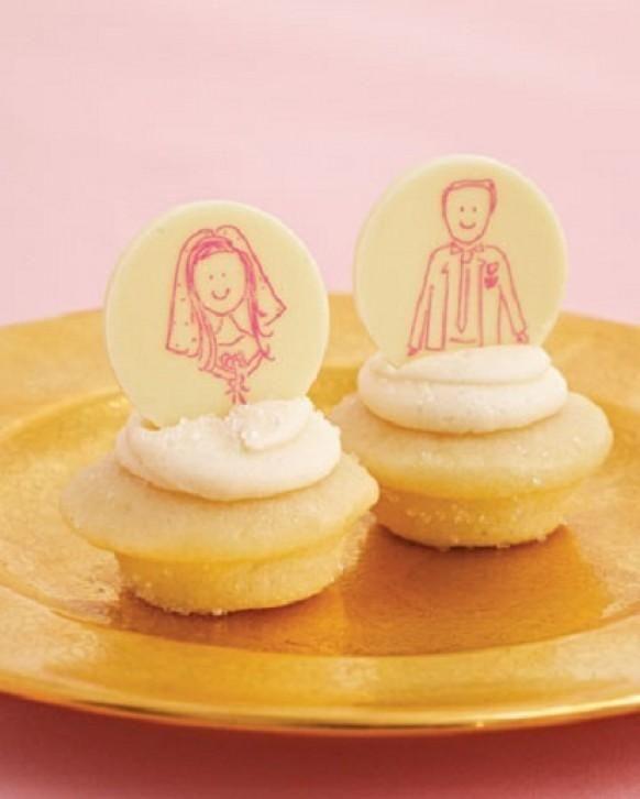 Вкусный и Креативные свадебные Cupakes ♥ Уникальные свадебные кексы