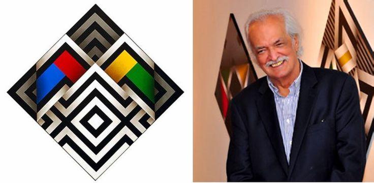 El pintor Omar Rayo fue uno de los artistas colombianos más activos del siglo XX.
