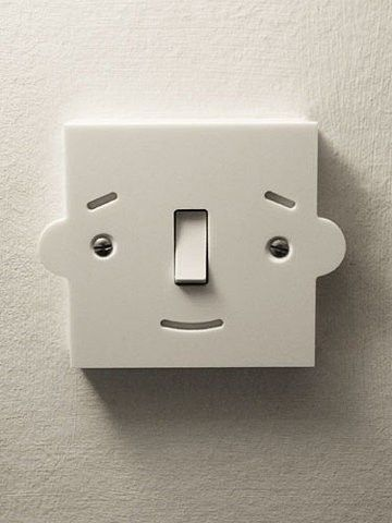 Cute light switch idea for a child's room