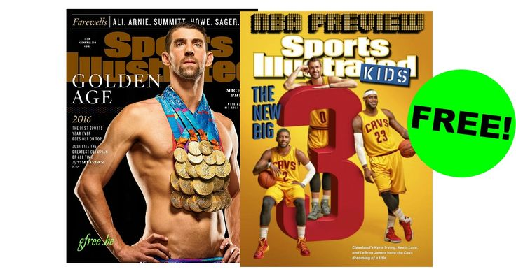 FREE Sports Illustrated Magazine Subscription! ($244 Value!) - http://gimmiefreebies.com/free-sports-illustrated-magazine-subscription-244-value/ #Football #Nab #Nfl #Nflplayoffs #Sports #ad