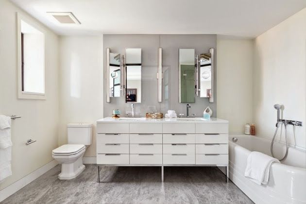 Modern Bathroom design style Inter Act - KITCHEN  WASH Pinterest