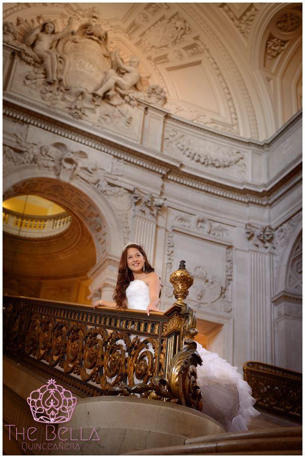San Francisco City Hall Fashion Quinceanera Photography