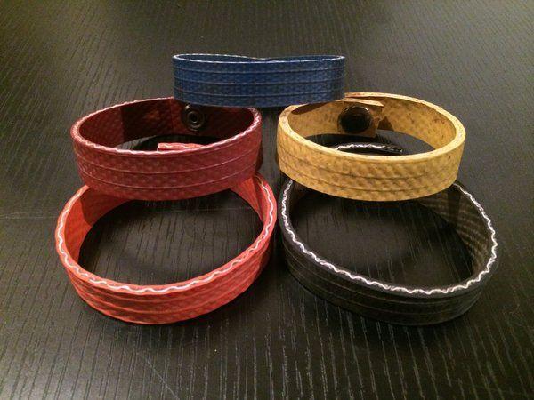 Fire Hose Wristband