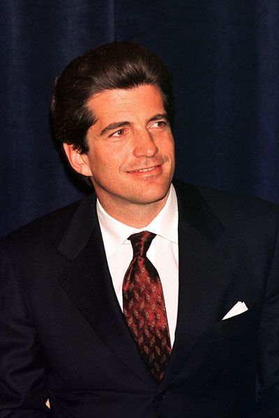 John F. Kennedy, Jr. (1960–1999), An American socialite, magazine publisher, lawyer, and pilot. The elder son of U.S. President John F. Kennedy and First Lady Jacqueline Lee Bouvier Kennedy. He died in a plane crash along with his wife Carolyn Bessette-Kennedy and his sister-in-law Lauren Bessette, on July 16, 1999.