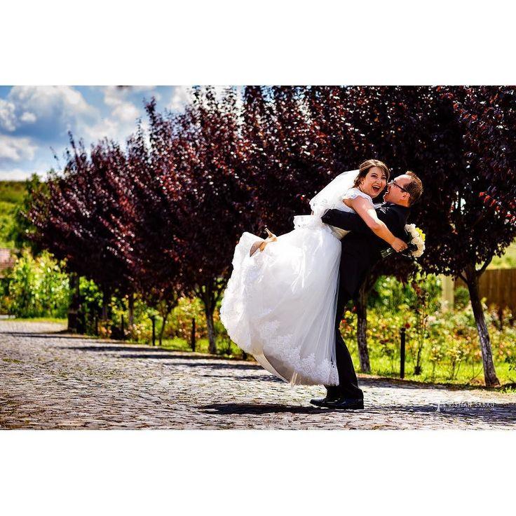 Wrestling Time   www.cristians.ro . . #weddingday #outdoors #love #couple #huffpostido #instawed #instapic #instalove #destinationweddingphotographer #romaniawedding #Transylvania #Romania #nikon #d750 #nikond750 #bride #groom #pin #fun #arms #joy #hallercastle #ig_romania #aotss #thesecondshot #ogra