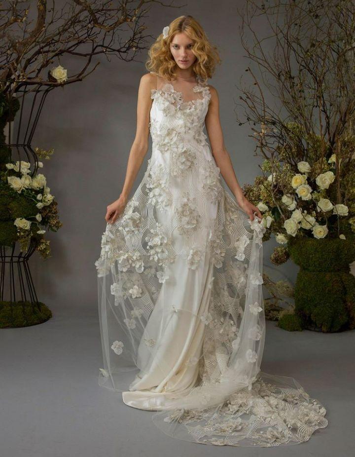 Beautiful Romantic Bohemian Wedding Dresses