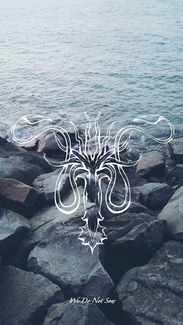 Game of Thrones - wallpaper - sigil - Greyjoy by EmmiMania.deviantart.com on @DeviantArt