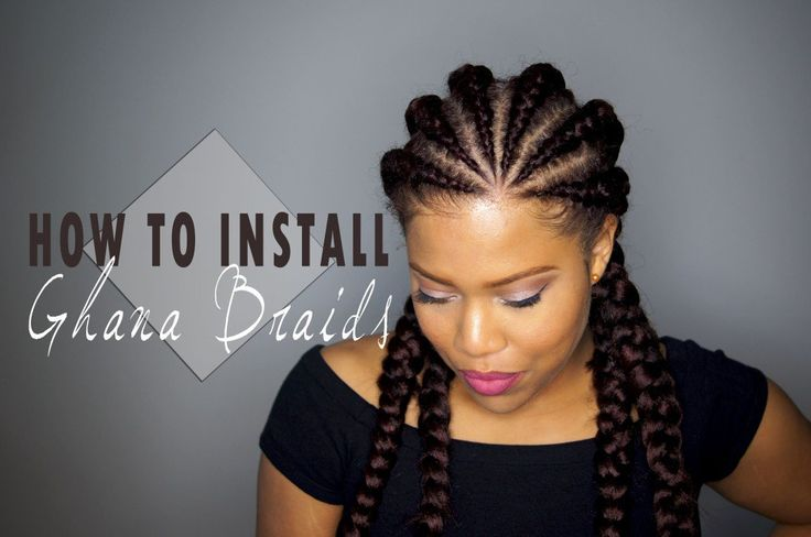 How To: Ghana Braid Install [Video] - http://community.blackhairinformation.com/video-gallery/braids-and-twists-videos/ghana-braid-install-video/