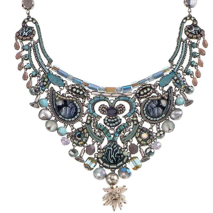 A special Ayala Bar Blue Clearwater Necklace. The glistening water, the flawless…