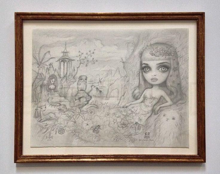 """Disegno di Mark Ryden  per """" Kate Aphrodite"""""""