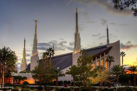 Las Vegas Temple Landscape By Shenemanscamera On Etsy
