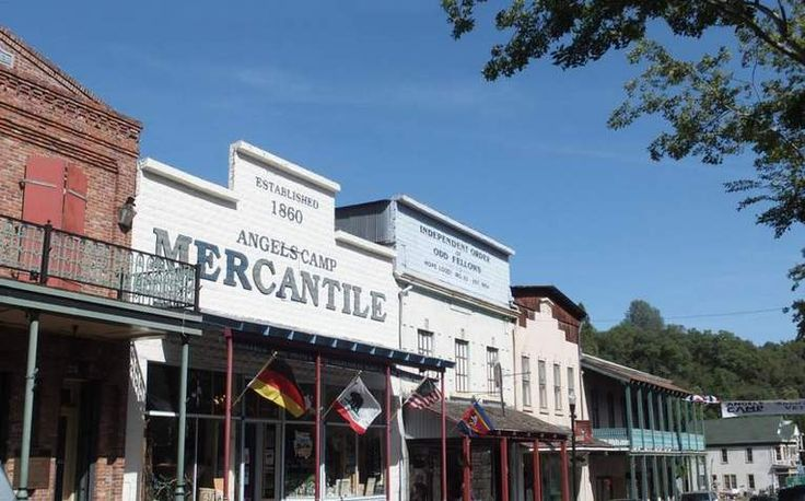 Angels Camp Day Trip California Gold Country. Historic gold rush town along Highway 49 home to Calaveras County Fair & Jumping Frog Jubilee.