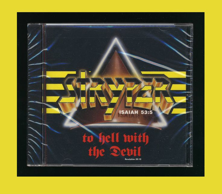 Stryper - To Hell with the Devil (CD Hollywood Records HR-61185-2) *New CD*