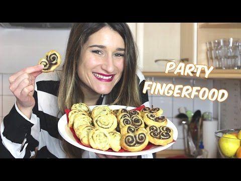 Nutella - und Frischkäse Blätterteigschnecken selber machen | Fingerfood | Melodie ♥ - YouTube
