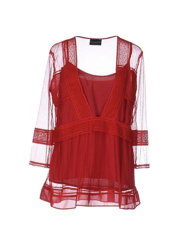 ATOS LOMBARDINI Women's Blouse Brick red 10 US