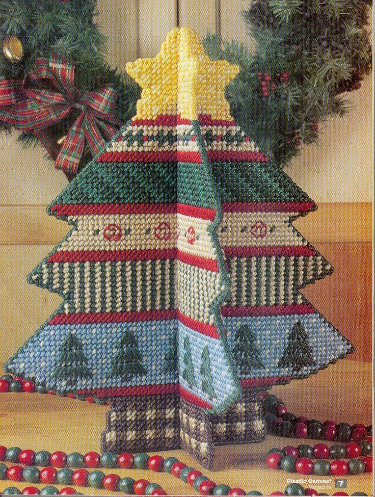 plastic christmas tree cake decorations
