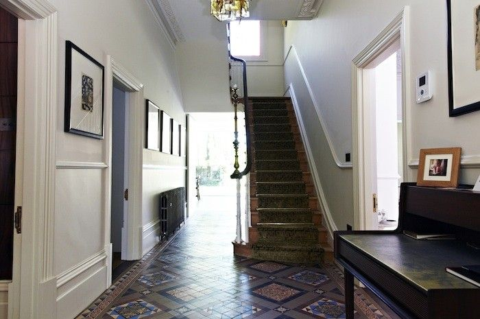 Barrowgate Road, Chiswick,  Stair Hall   Remodelista