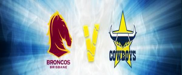 The Brisbane Broncos take on the North Queensland Cowboys in the National Rugby League at Suncorp Stadium on Friday 14th March.  Don't miss out..!! Secure your tickets.. http://www.suncorpstadium.com.au/Event_Info/Events/2014_NRL_Telstra_Premiership_Round_2.aspx
