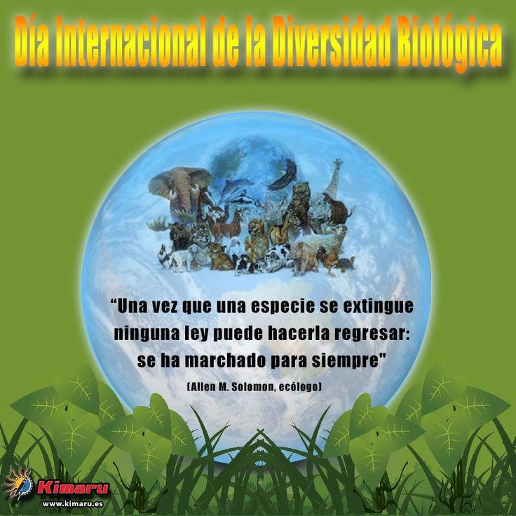 Dia Internacional Diversidad Biologica 2014