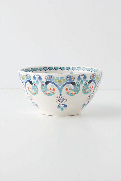 Swirled Symmetry Bowl - Anthropologie.com