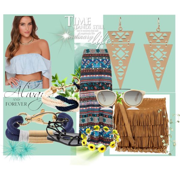 Hippie summer combination by maia-ratiu on Polyvore featuring Monsoon, Ted Baker, Polo Ralph Lauren, Apt. 9, BloggerStyle, hippie, fashionset and maiaratiu
