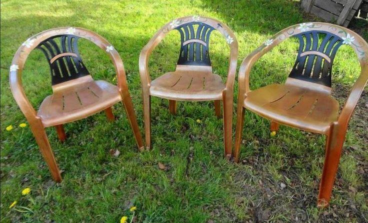 15 pingles peindre des chaises en plastique incontournables peindre le plastique peinture de for Peindre chaise plastique
