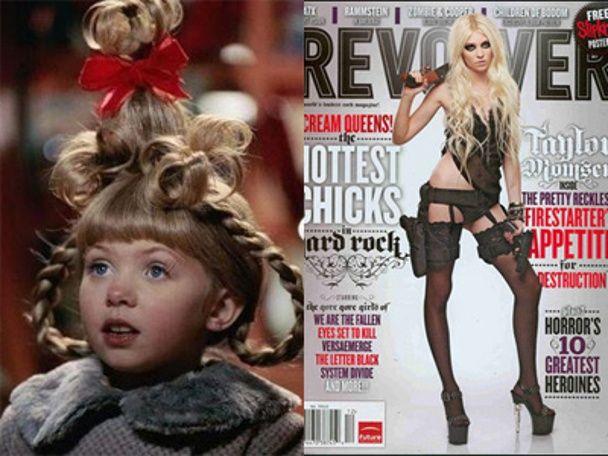 Taylor Momsen Grinch Images & Pictures - Becuo Taylor Momsen