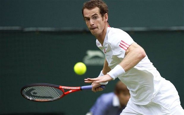 Wimbledon 2012: Andy Murray says it's time to let tennis do the talking after first round demolition of Nikolay Davydenko - Telegraph