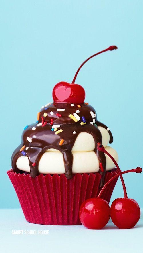 Chocolate Sundae Cupcakes recipe - Make your cupcakes look like a chocolate…