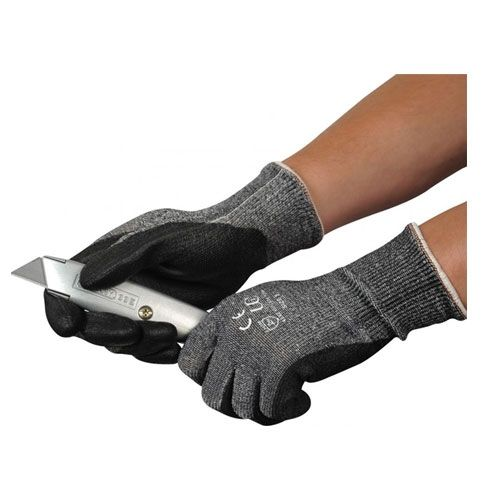 Cut Level 5 PU Grip Gloves
